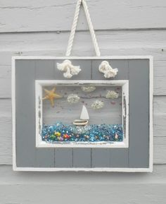 Mermaid ArtSailboat Art Sailboat Wall Decor by LookandSea on Etsy