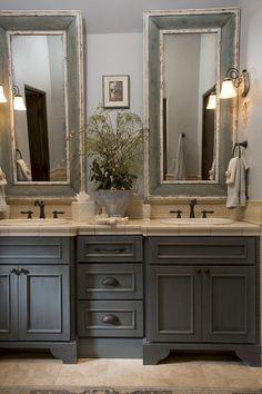 Nice 29 Gorgeous Small Bathroom Vanities Design Ideas https://roomaniac.com/29-gorgeous-small-bathroom-vanities-design-ideas/