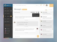 Dribbble - Launching Messaging! by Giovanni Hobbins