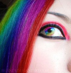 Rainbow Eye by briandy on deviantART