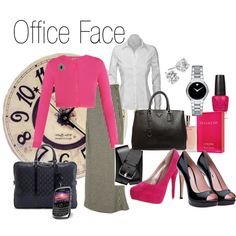 Office Face: Eliminating boring outfits one day at a time.