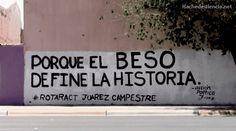 Porque el beso define la historia  #calle #accion