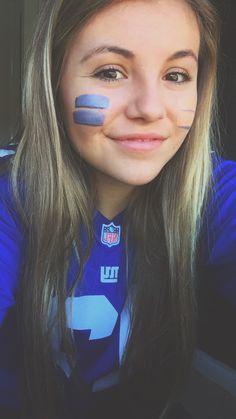 Football, face paint, Super Bowl: me Football Eye Black, Football Face Paint, Football Spirit, Football Season, Football Halloween Costume, Audrey Fluerot, Black Face Paint, Homecoming Spirit Week, Look Into My Eyes