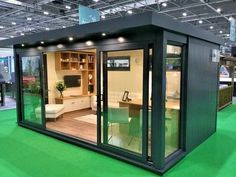 "(The ""She Shed"". The ""He Shed"" (aka: Man Cave). Whatever it is you decide on, let your she shed/he shed be a reflection of you! Outdoor Office, Backyard Office, Backyard Studio, Backyard Sheds, Garden Office, Backyard House, Dream Home Design, Tiny House Design, Minimalist House Design"