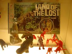 Land of the Lost board game. My favorite Sid and Marty Krofft Saturday morning cartoon. I loved this game.