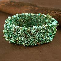 Gorgeous turqoise stretch bracelet