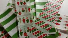 Christmas Washi Label Stickers for Erin by OneStopPlannerShop, $2.00