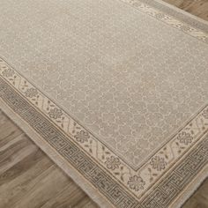 Jaipur Revolution Concord Hand Knotted Wool Rug @LaylaGrayce