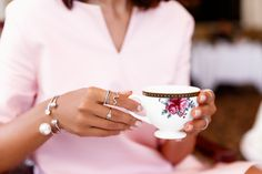 AFTERNOON TEA AT THE LANGHAM PASADENA