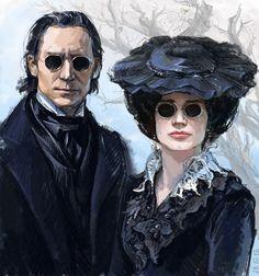 Tom and Jessica completely gone (Gothic) Luteces in Crimson Peak