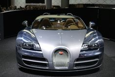 Bugatti Veyron Silver