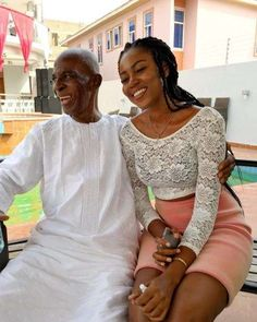 Yvonne Nelson Shares First Photo of Late Dad