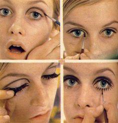 Twiggy's makeup