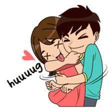 Like A Tight hug rk. Cute Love Stories, Cute Love Pictures, Cute Cartoon Pictures, Cute Love Gif, Cute Couple Drawings, Cute Love Couple, Love Cartoon Couple, Anime Love Couple, Tight Hug