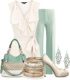 LOLO Moda: Elegant classic fashion 2dayslook #anna7891 #Love Dress #anna7891www.2dayslook.com