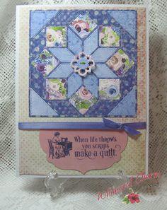Gina+Marie+quilt+die+-+Flower+Burst - Scrapbook.com