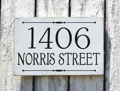 Outdoor Address Sign Custom Yard Sign House Numbers Exterior Curb Appeal Housewarming Gift Lawn Markers Home Number Plaques Rustic Farmhouse Modern Craftsman