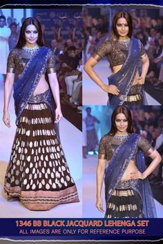 Bipasha Basu Designer Wear Lehenga Choli