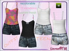 Teen Outfit by Lianaa  http://www.thesimsresource.com/downloads/958542