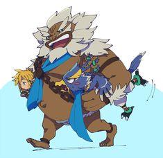 Daruk, Link and Revali