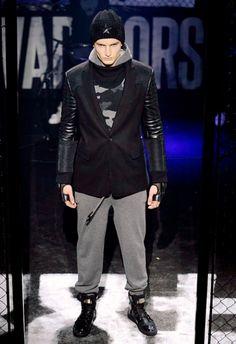 Philipp Plein • MMU FW 2015/2016 • Camera Nazionale della Moda Italiana Mens Fall, Fall Winter 2015, Leather Jacket, Jackets, Style, Fashion, Italian Fashion, Studded Leather Jacket, Down Jackets