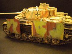Panzer 3 ausf. M. Carro Comando.