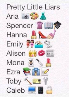 Image via We Heart It #fun #funny #lol #wallpaper #prettylittleliars #simbols #emoji #wpp #pll #ariamontgomery #ezrafitz #spencerhastings #alisondilaurentis #emilyfields #hannamarin #tobycavanaugh #monavanderwaal #whatsapp #calebrivers #emojis #❤️