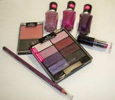 Fall Makeup Trends   Purples and Plums with wet n wild - click for more