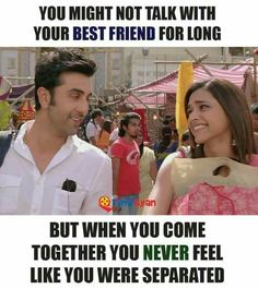 facing this situation in really life 😢.me n my best f hadn't talk for a long time Best Friend Quotes For Guys, Love My Best Friend, Besties Quotes, Cute Couple Quotes, Cute Funny Quotes, Me Time Quotes, Movie Quotes, Aries Woman Quotes, Yjhd Quotes