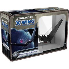 Make your opponents fear the First Order and the dark side of the Force with the Upsilon-class Shuttle Expansion Pack for X-Wing™! It features one pre-painted, large-base miniature of the sleek, predatory shuttle that the First Order typically used to escort its high-ranking officers. Boasting both powerful weapons and shields, ...
