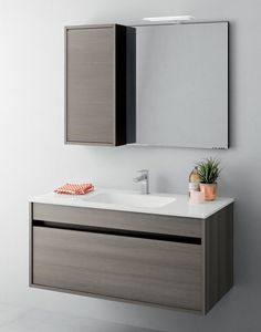 You Will Never Believe These Bizarre Truths Behind Contemporary Bathroom Storage Cabinets - Modern Bathroom cabinet with Integrated wash basin . Bathroom Basin Cabinet, Wash Basin Cabinet, Modern Bathroom Cabinets, Modern Master Bathroom, Bathroom Furniture, Bathroom Storage, Bathroom Ideas, Bathroom Design Software, Bathroom Design Luxury