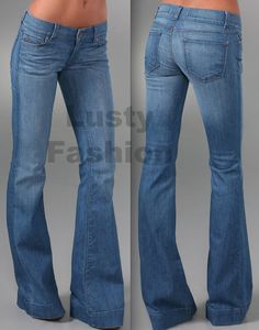 Bell-bottom jeans 2013 Might try these again. :)