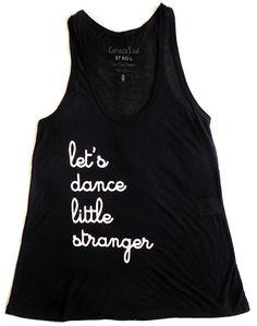 """Camiseta """"Let's Dance"""" R$60.00"""