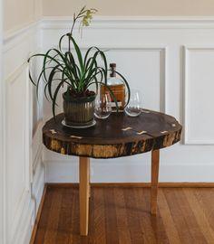 kentucky handmade live edge walnut table