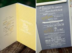 Wedding Invitations - cute wording