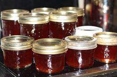 Pear Jelly Recipes, Prickly Pear Recipes, Jalapeno Jelly Recipes, Jam Recipes, Canning Recipes, Prickly Pear Jelly, Cactus Recipe, Pear Preserves, Gelee