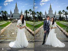 LDS Wedding Photography I Oakland LDS Temple I Bay Area Wedding Photographer I Suzy