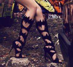 Giuseppe Zanotti  bat shoes!!!  <3