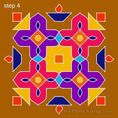 This page provides 12x12 Dot Rangoli Designs with title 12x12 Dot Rangoli 2 for Hindu festivals.