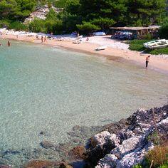 Beach in Vis Island, Dalmatia, Croatia Dalmatia Croatia, Adriatic Sea, Coast, Island, Beach, Water, Outdoor, Block Island, Gripe Water