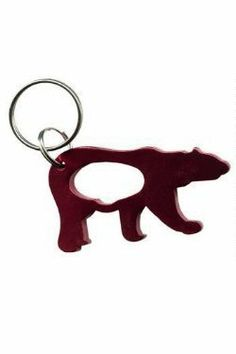 Bottle Opener Keychain - Polar Bear by Bottles-Up. $7.99. bear bottle opener. key chain opener. Bottle Opener keychain. Polar Bear. Keychain bottle opener. beer bottle opener. Polar Bear bottle opener. This key chain style opener is made from solid anodized aluminum. Very light yet very strong, this bottle opener is a great addition to camping gear, scuba gear or just your key ring. Never get caught without it.
