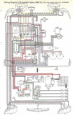 FFF VW ar.: Sistema elétrico do fusca/TL/Variant 1600