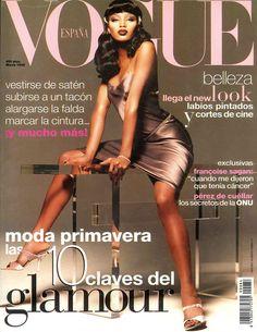 Naomi Campbell Vogue España March 1995
