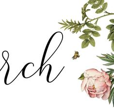 Purpose, Recycling, Calendar, March, Sign, Website, Paper, Floral, Florals