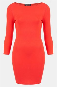Topshop Body-Con Dress available at #Nordstrom