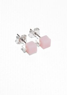 & Other Stories | Cube Stud Earrings