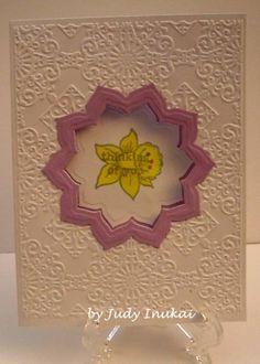 Window Daffodil card