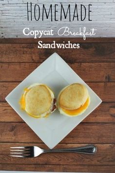 Homemade Egg Sandwiches Recipe that is Easy and Quick Freezer Friendly Homemade Breakfast Sandwiches