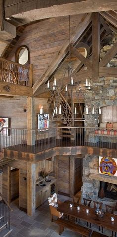 Big Sky Mountain retreat interior. by Brooks & Falotico Associates, Inc. - Lookbook - Dering Hall