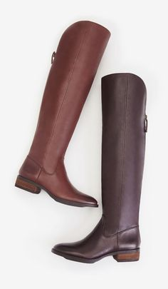 Andie Boots in Brown